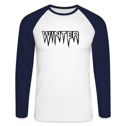 Winter - Männer Baseballshirt langarm
