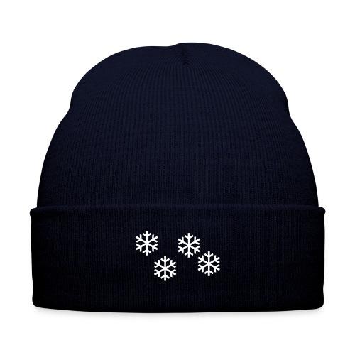 Schneeflocken - Wintermütze