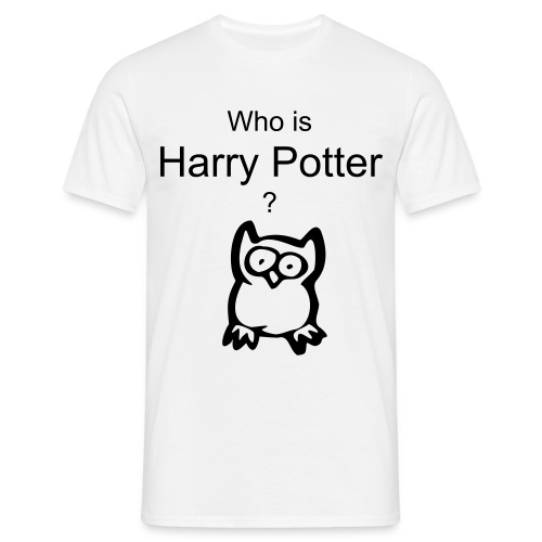 Who is HP - Men's T-Shirt