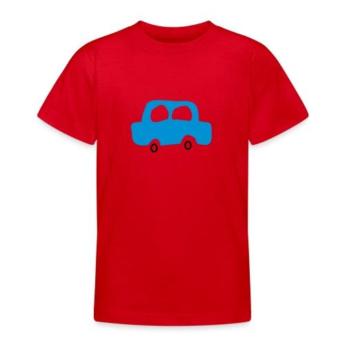 Car red 6-14 year - T-shirt tonåring