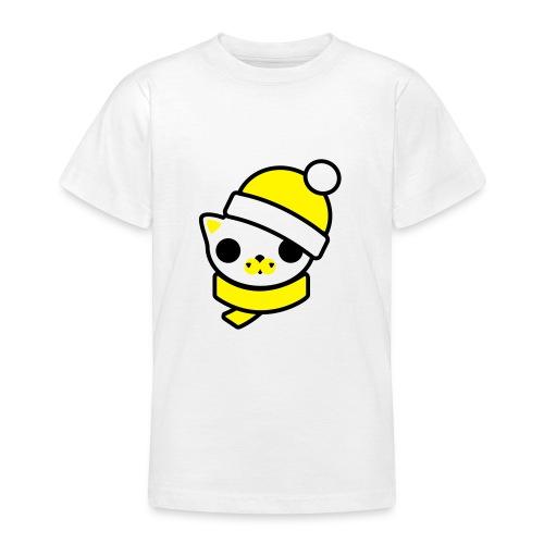 Kitten yellow 6-14 year - T-shirt tonåring