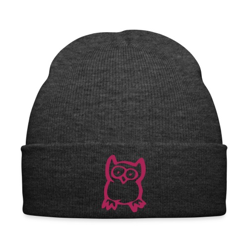 owl pink  - Winter Hat