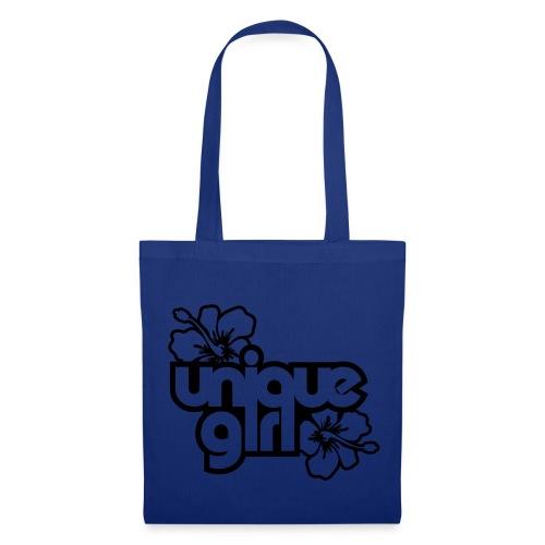 Unique Girl, Blue - Tote Bag