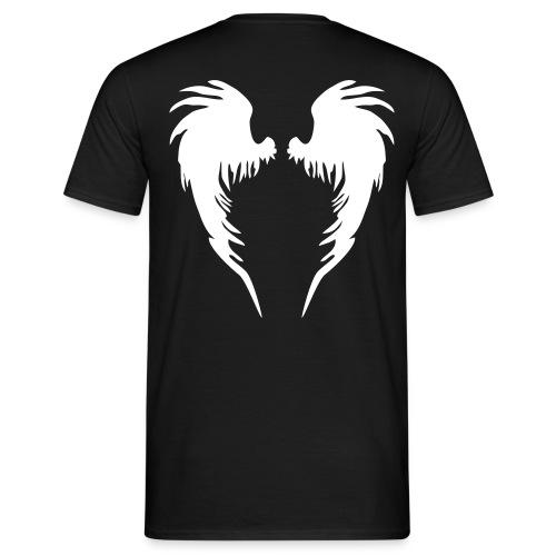 Engel (Gent's T, Rückendruck) - Männer T-Shirt