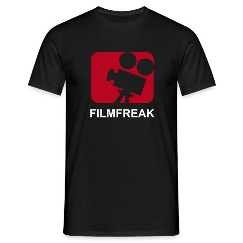 Filmfreak Black - Männer T-Shirt