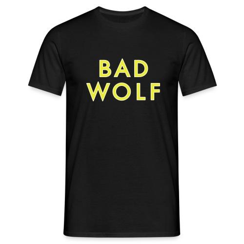 Bad Wolf yellow/glow - Men's T-Shirt