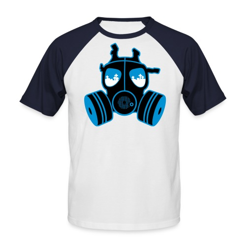 Herrenshirt, death is everywhere - Männer Baseball-T-Shirt
