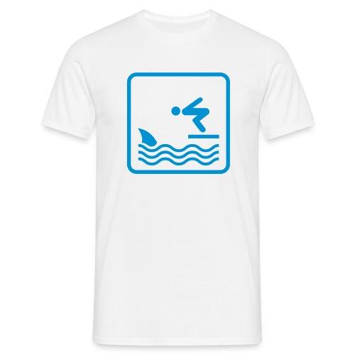 Shark - T-shirt herr