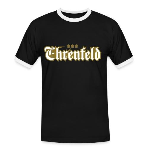 Ehrenfeld (Frakturschrift) - Männer Kontrast-T-Shirt