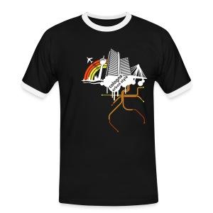 Cologne urban style - Männer Kontrast-T-Shirt