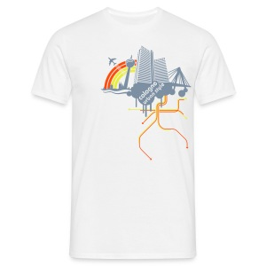 Cologne urban style - Männer T-Shirt