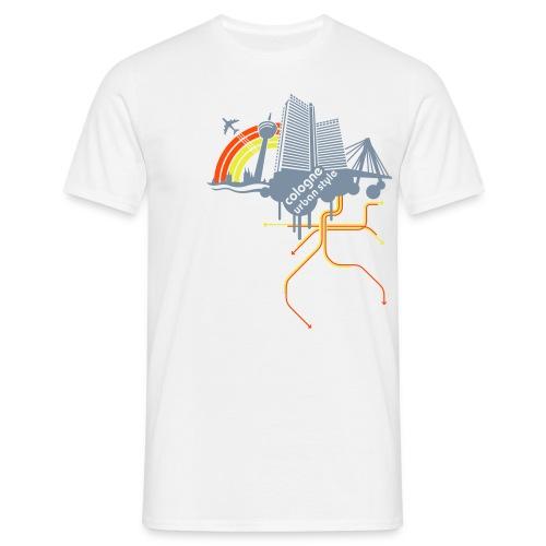 Cologne urban style - Männer T-Shirt