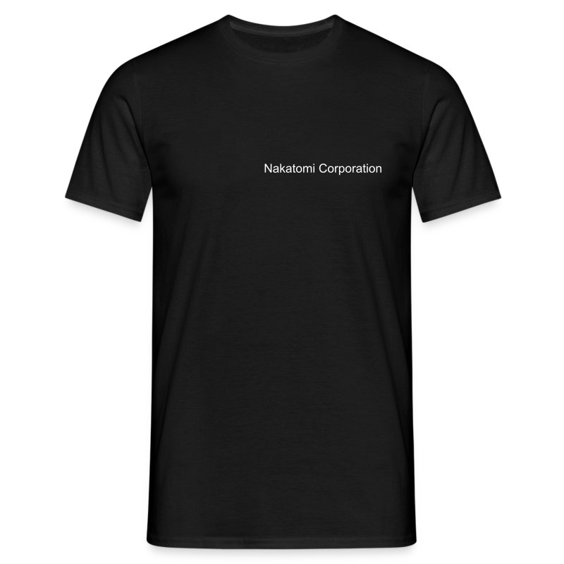 Comfort Tee Black Nakatomi Corporation Security - Men's T-Shirt
