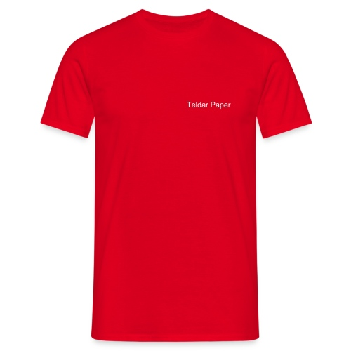 Comfort Tee Red Teldar Paper VP - Men's T-Shirt