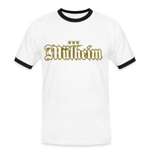 Muelheim (Frakturschrift) - Männer Kontrast-T-Shirt