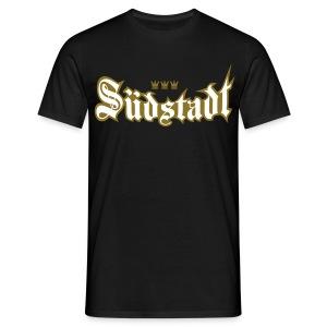 Suedstadt (Frakturschrift) - Männer T-Shirt