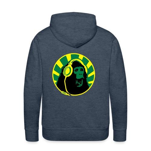 Singe hurleur - Sweat-shirt à capuche Premium pour hommes