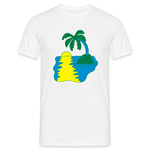 Desert Island Shripwreck - Men's T-Shirt