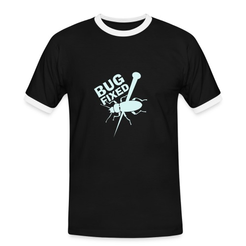 Bug fixed ?! - Männer Kontrast-T-Shirt