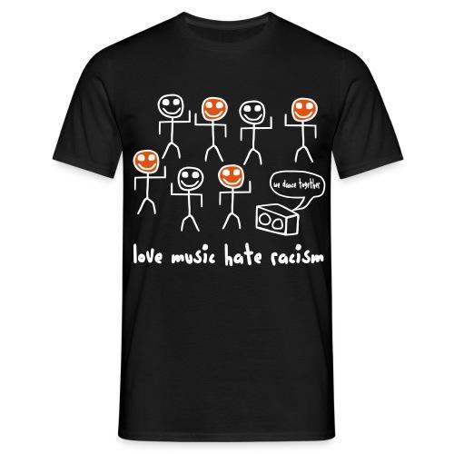 Love Music Hate Racism - Männer T-Shirt