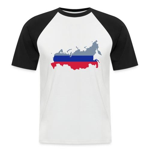 T-shirt Russland - Männer Baseball-T-Shirt