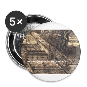 museums pin minor - Buttons mittel 32 mm