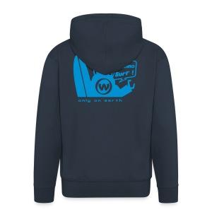 UFO Hooded Jacket - Men's Premium Hooded Jacket