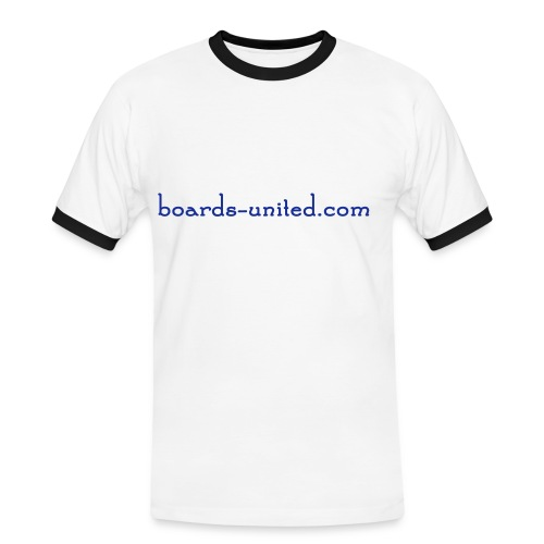 Shirt - boards-united.com - Männer Kontrast-T-Shirt