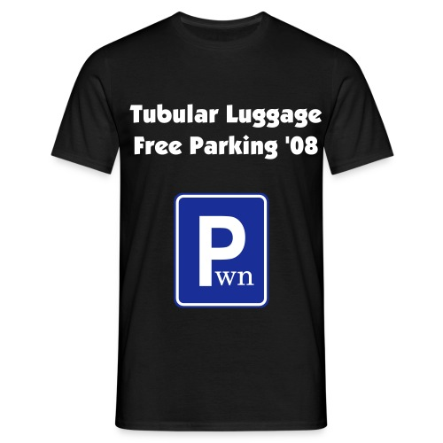 Free Parking '08 - Men's T-Shirt