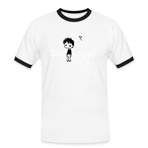 Tuetenueggel - Männer Kontrast-T-Shirt