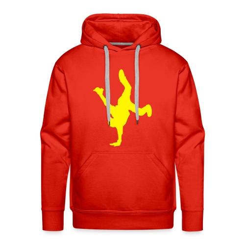 A nice and warm hoody with print! - Premium hettegenser for menn