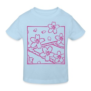 Fleurs de cerisier d'Alishan - T-shirt bio Enfant