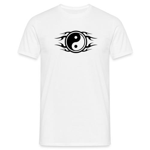 ying yang t-shirt - Men's T-Shirt