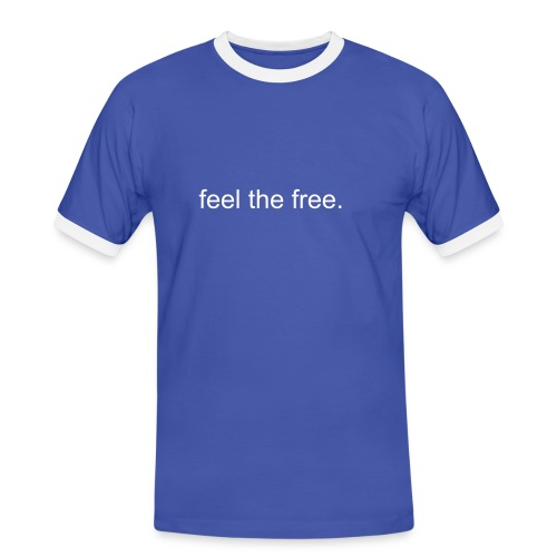 theGoob's Retro Shirt with Feel The Free - Men's Ringer Shirt