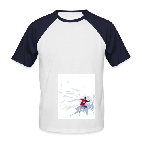 Footbag Shirt - Männer Baseball-T-Shirt