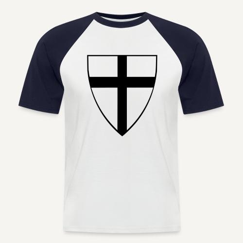 Krzyżacy - Koszulka bejsbolowa męska