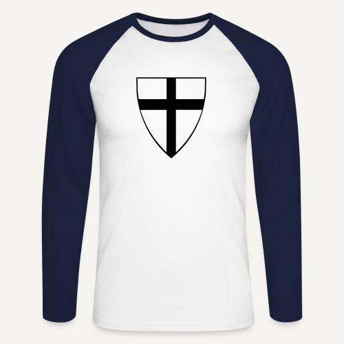 Koszulka krzyżacka 4 - Koszulka męska bejsbolowa z długim rękawem