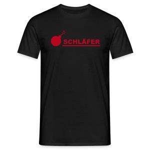 Schläfer Comfort schwarz - Männer T-Shirt