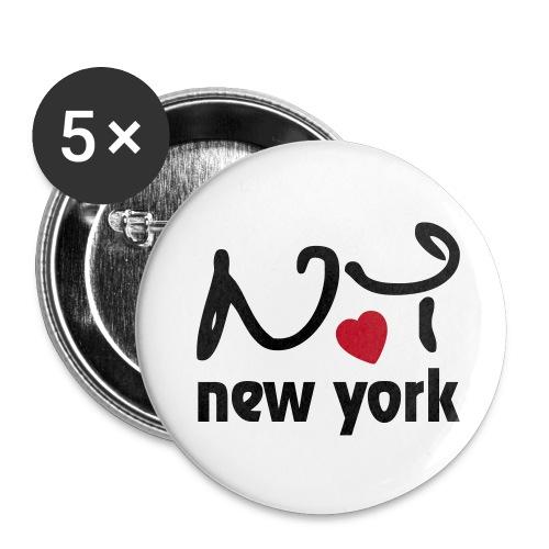 NY - Badge petit 25 mm