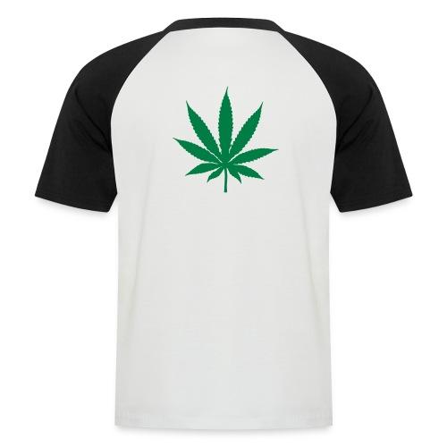 leaf mens tee - Men's Baseball T-Shirt