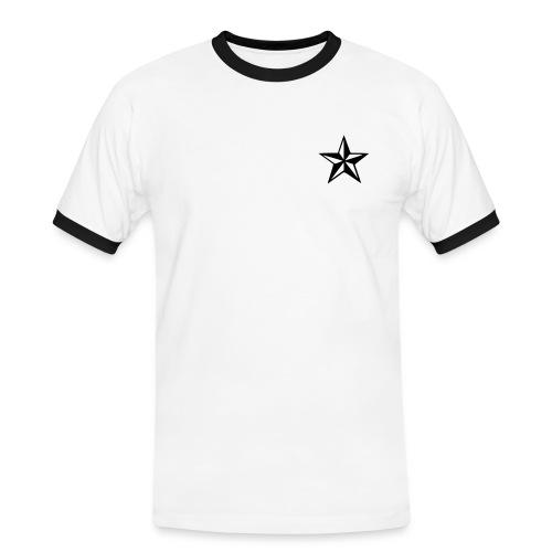 basic star mens tee - Men's Ringer Shirt