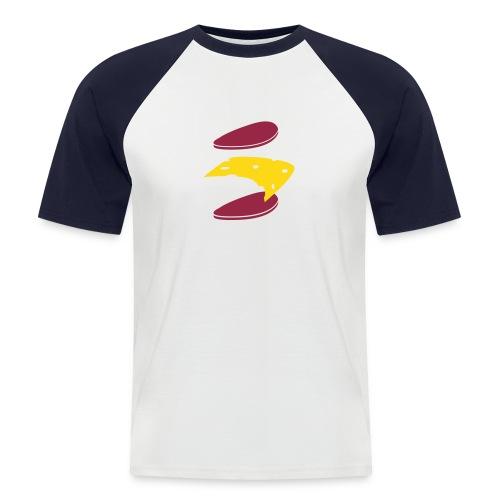 Männer Baseball-T-Shirt - Kaesebrot