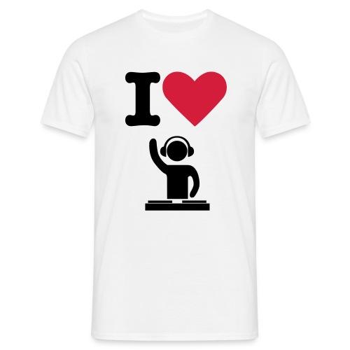 lovedj - Men's T-Shirt