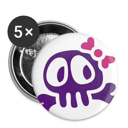 Love my Virus Buttons - Buttons small 1''/25 mm (5-pack)