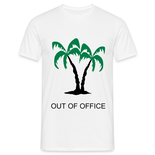 Out of office - T-shirt Homme
