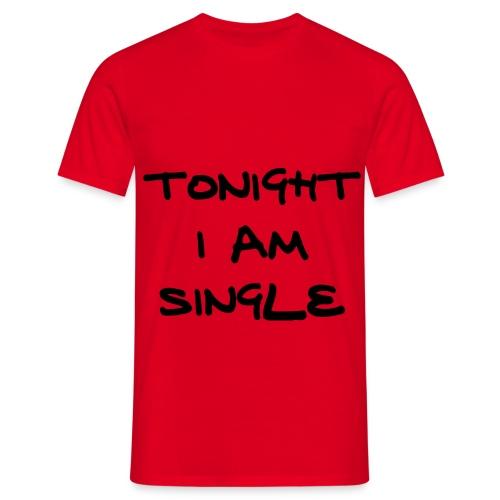 single - Miesten t-paita