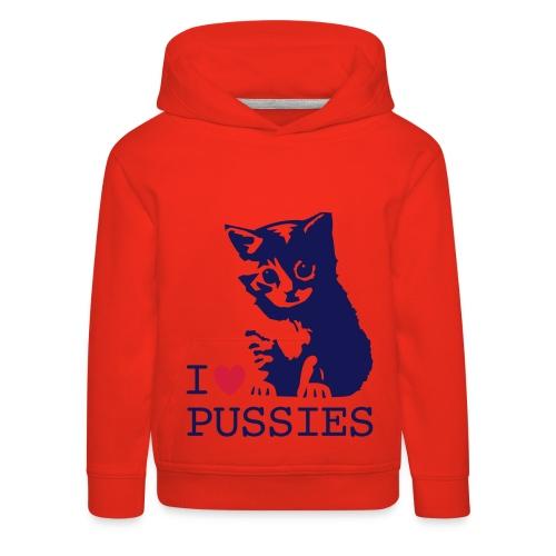 i love pussies jumper - Kids' Premium Hoodie