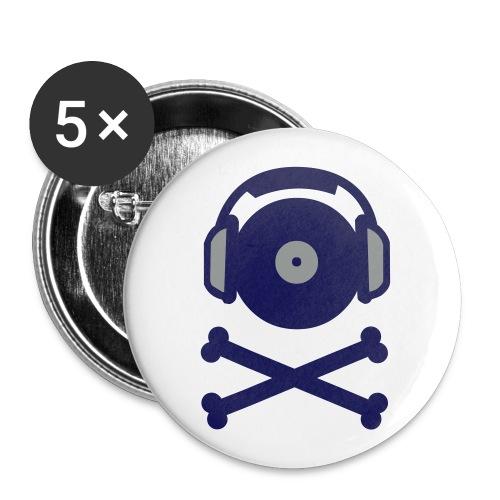 Anti - Resi Button - Buttons groß 56 mm (5er Pack)