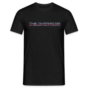 Taffinator BLACK Comfort Minute - Men's T-Shirt