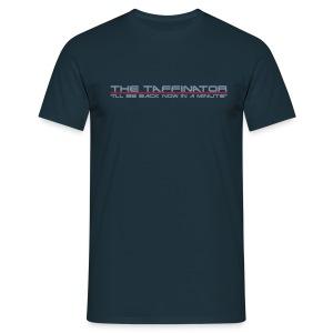Taffinator NAVY Comfort Minute - Men's T-Shirt